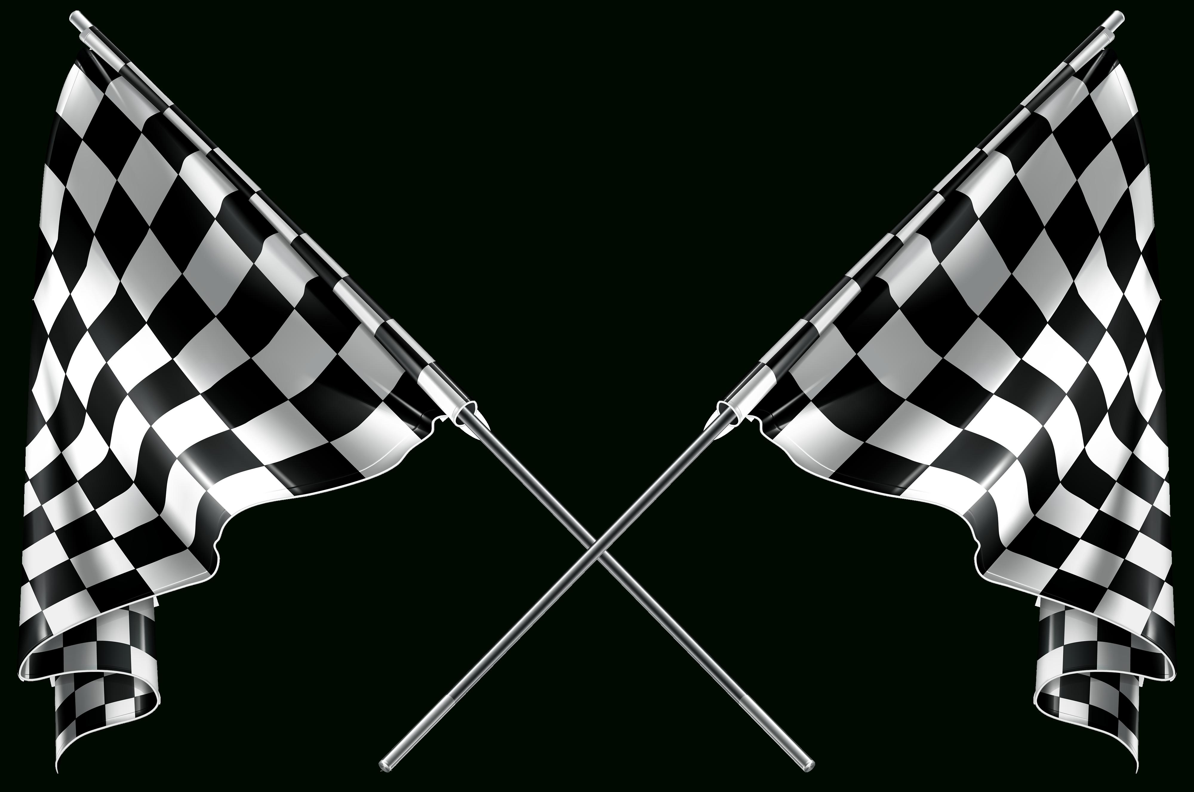 Checkered Flag Clip Art - Clipartbarn - Free Printable Checkered Flag Banner