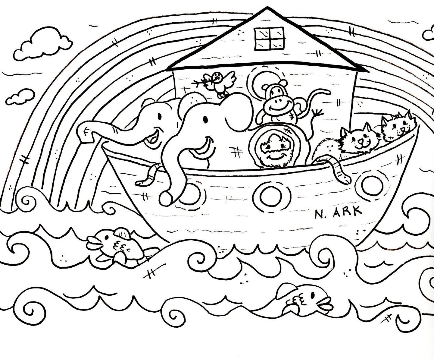 Children Coloring Pages For Church |  Sunday School Coloring - Free Printable Sunday School Coloring Pages