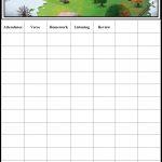 Childrens Gems In My Treasure Box: Sunday School   Attendance Chart   Sunday School Attendance Chart Free Printable