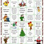 Christmas Board Game   Christmas Lessons   Christmas Board Games   Free Printable Christmas Board Games
