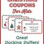 Christmas Coupons For Kids   Free Printable!   Free Printable Coupons 2014