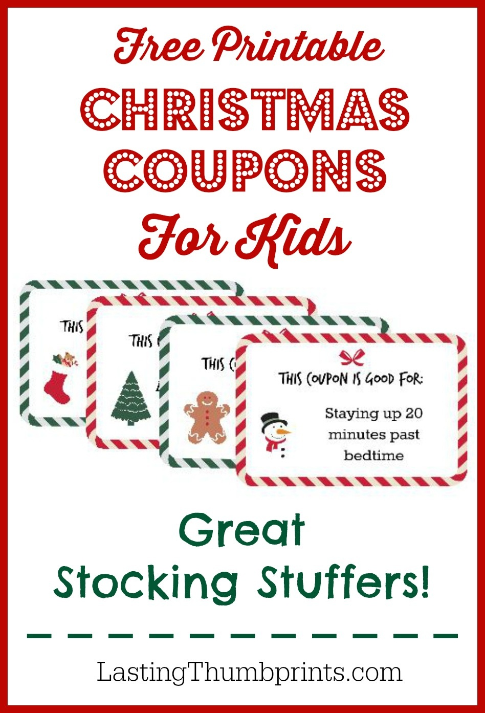 Christmas Coupons For Kids - Free Printable! - Free Printable Coupons 2014