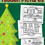 Christmas Hidden Pictures Printables | Best Of Mama's Learning - Free Printable Christmas Hidden Picture Games