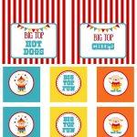 Circus Party   Free Printables   Free Printables   Circus Party   Free Printable Carnival Decorations