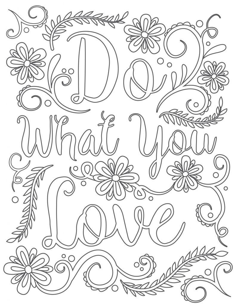 Click To Download Free Printable Adult Coloring Page. Happy National - Free Printable Pictures