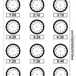 Clock Telling Time Worksheet Printable | Worksheetfun – Free – Free Printable Telling Time Worksheets