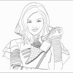 Coloring Book World ~ Coloring Book World Descendants Pages Disney   Free Printable Descendants Coloring Pages