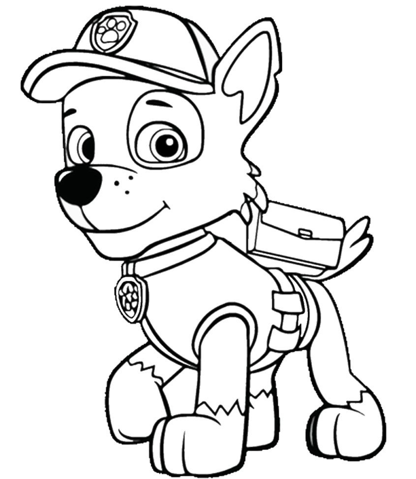Coloring Book World ~ Coloring Book World Paw Patrol Sheets Pages - Free Printable Paw Patrol Coloring Pages