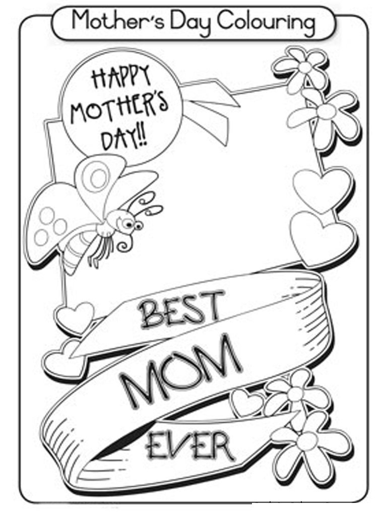 Coloring Book World ~ Coloring Book World Printable Cards Staggering - Free Printable Mothers Day Coloring Cards
