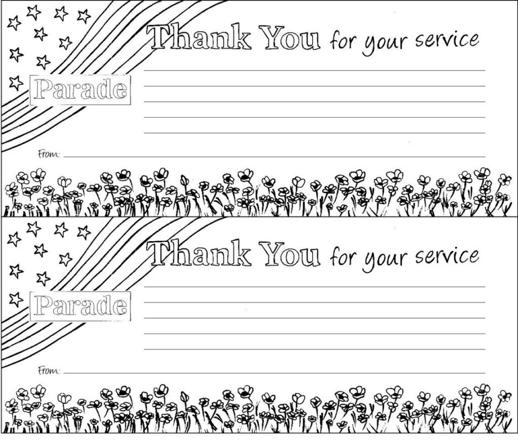 Coloring Book World ~ Coloring Pages Veteransy Printables For Kids - Veterans Day Free Printable Cards