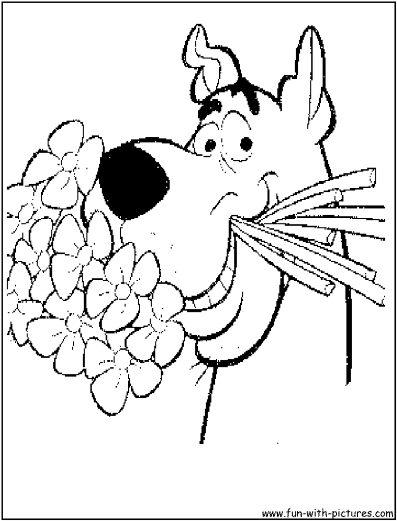 Coloring ~ Coloring Scooby Doolouring Pages Free Printable - Free Printable Coloring Pages Scooby Doo