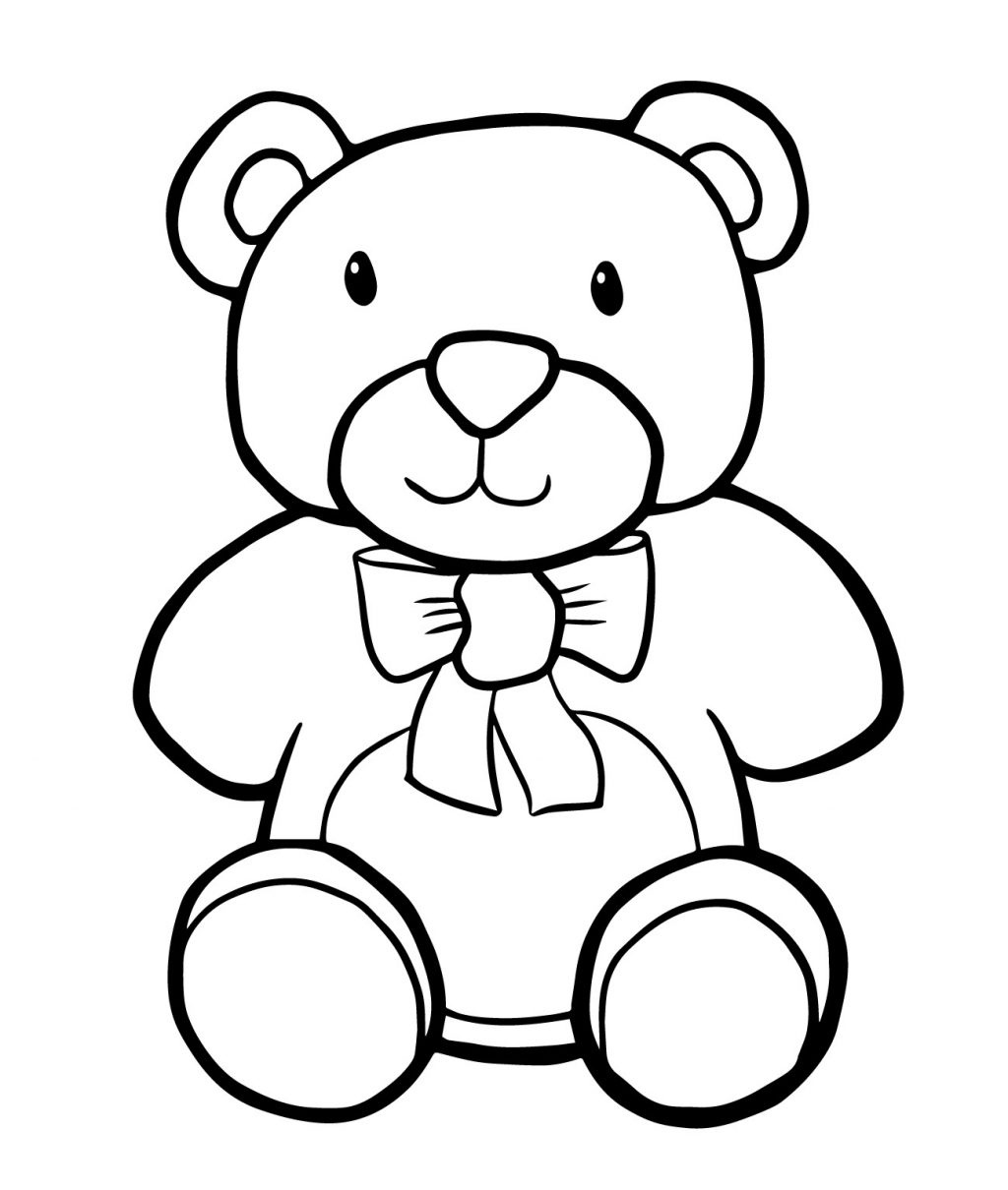 Coloring Ideas : Free Printable Teddy Bear Coloring Pages For Kids - Teddy Bear Coloring Pages Free Printable