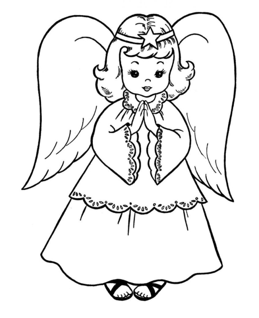 Coloring Pages Ideas: Angel Coloring Pages For Adults Advanced Free - Free Printable Pictures Of Angels