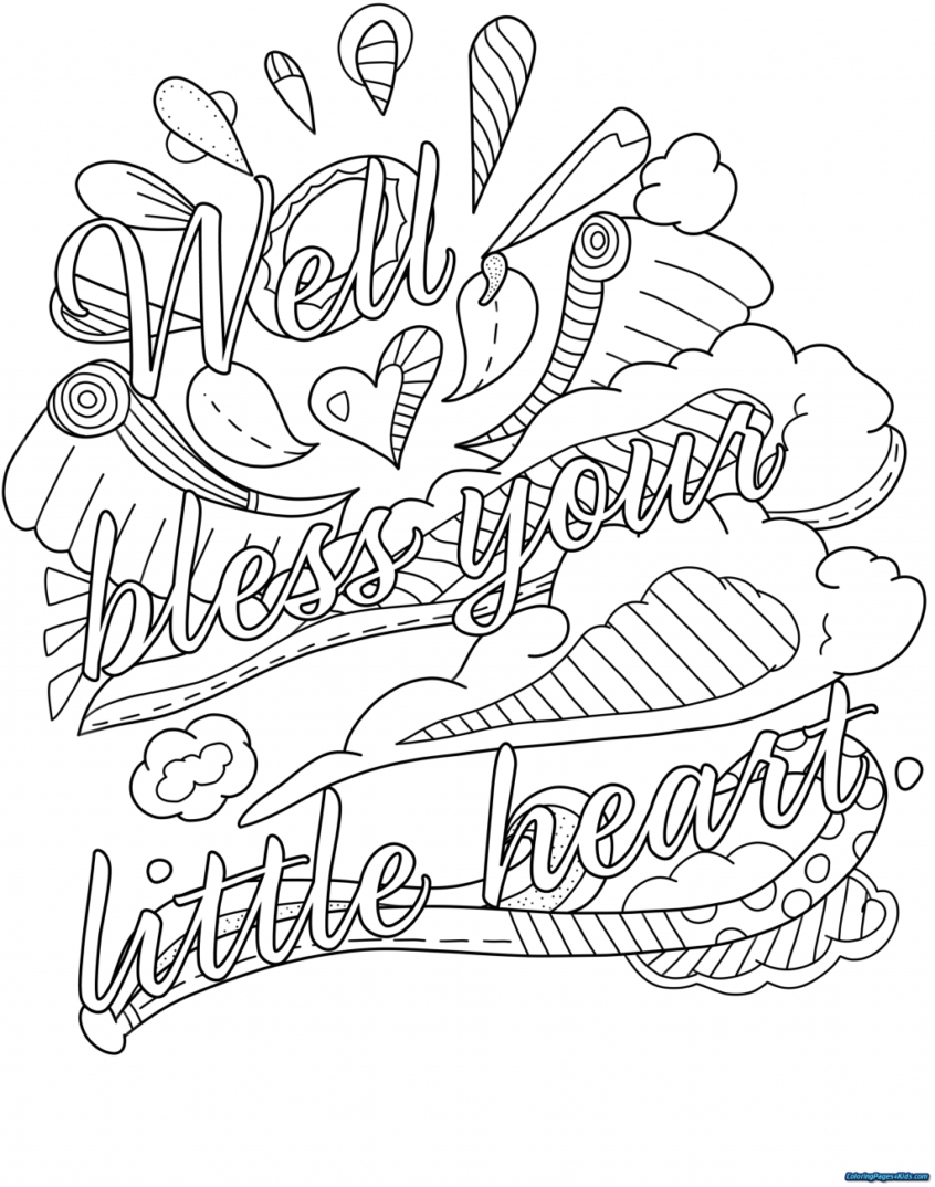 Coloring Pages Ideas: Coloring Pages Swear Words Book The Word - Swear Word Coloring Pages Printable Free