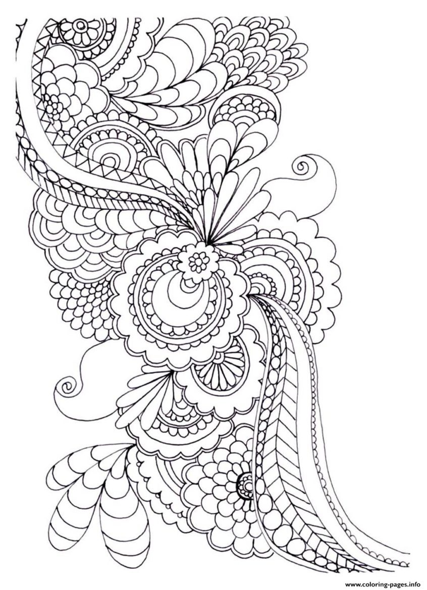 Coloring Pages Ideas: Excelent Flower Coloring Sheets Pages For - Free Printable Flower Coloring Pages For Adults