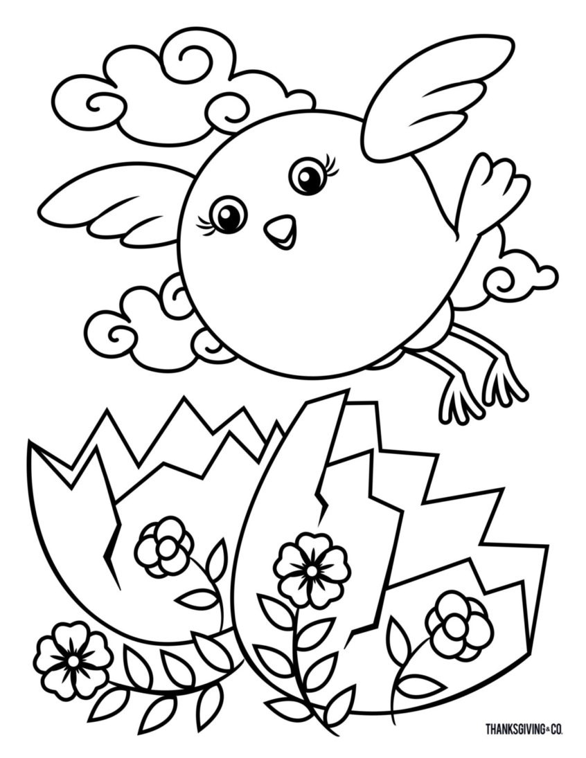Coloring Pages Ideas: Free Printable Easter Coloring Pages Your Kids - Easter Color Pages Free Printable