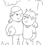 Coloring Pages Ideas: Two Best Friends Coloring Page Pages Ideas   Free Printable Bff Coloring Pages