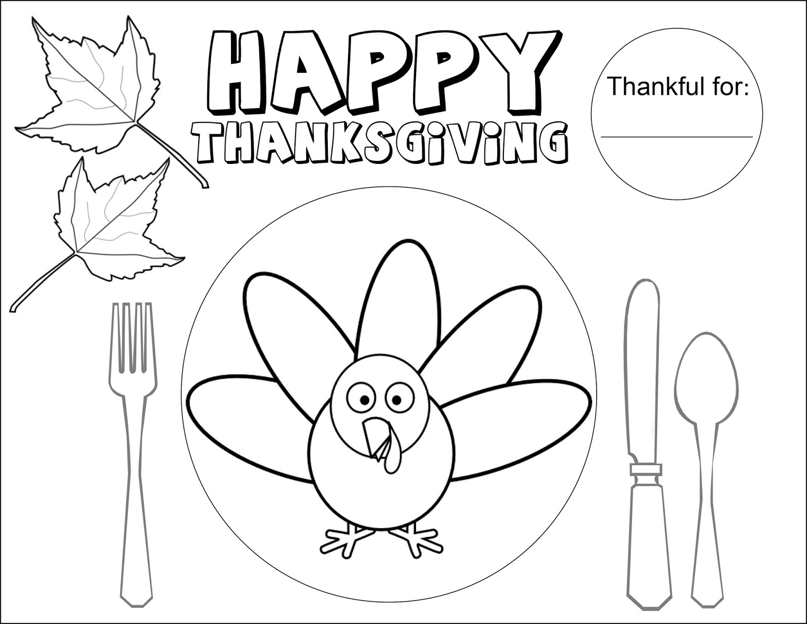 Coloring Placemats For Thanksgiving – Happy Easter & Thanksgiving 2018 - Free Printable Thanksgiving Coloring Placemats