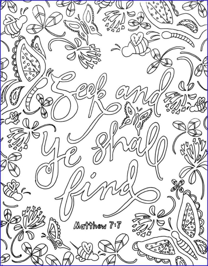 Coloring ~ Printable Bible Verse Coloring Pages Free For Kids The - Free Printable Bible Coloring Pages