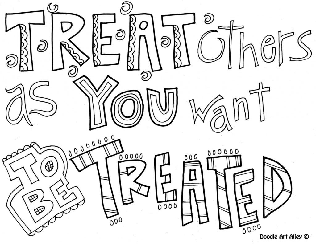 Coloring Sheets Showing Respect Pages Free Printable Quotes Photo - Free Printable Coloring Pages On Respect