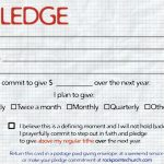 Commitment Card Template   Kaza.psstech.co   Free Printable Drug Free Pledge Cards