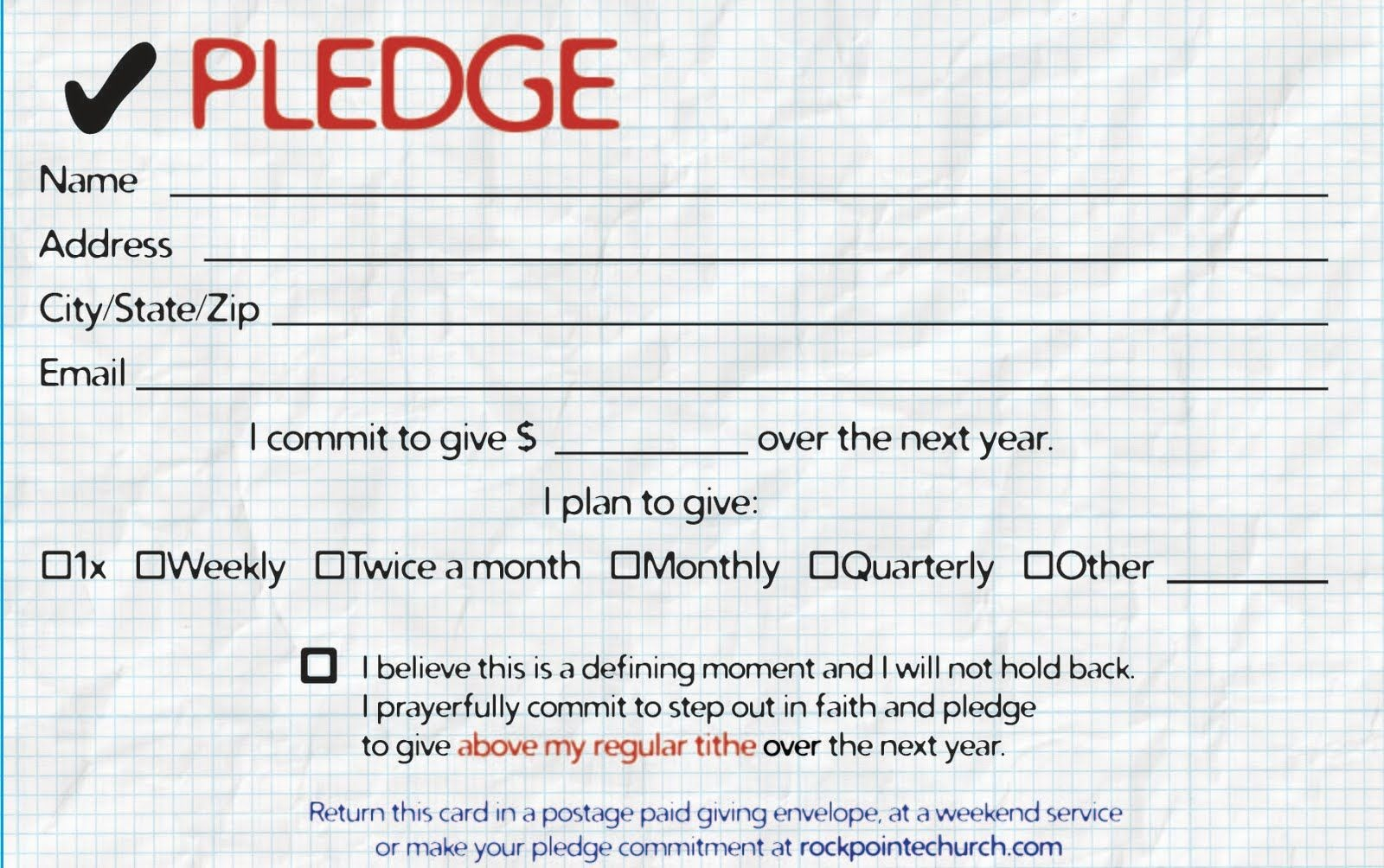 Commitment Card Template - Kaza.psstech.co - Free Printable Drug Free Pledge Cards