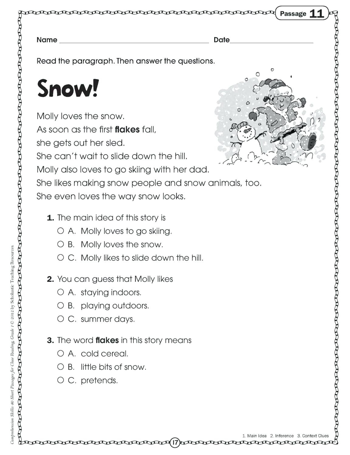 Free Printable Short Stories For 2Nd Graders | Free Printable