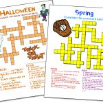 Crossword Puzzle Maker | World Famous From The Teacher's Corner - Crossword Maker Free And Printable