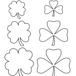 Customize Your Free Printable Shamrock Template | Home | Shamrock   Free Printable Shamrocks