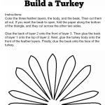 Cute Turkey Craft W/ Free Printable Template | Craft Ideas | Turkey   Free Printable Turkey Craft