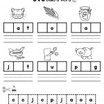 Cvc Words | Cvc Words | Cvc Words, Kindergarten Literacy, Cvc Worksheets   Free Printable Cvc Worksheets