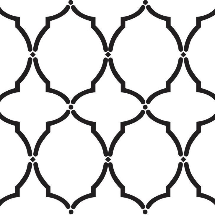 Free Printable Moroccan Wall Stencils