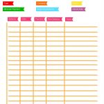 Debt Repayment Printables ⋆ Sugar, Spice And Glitter   Free Printable Debt Payoff Worksheet