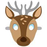 Deer Mask Template | Free Printable Papercraft Templates | Camping   Free Printable Paper Masks