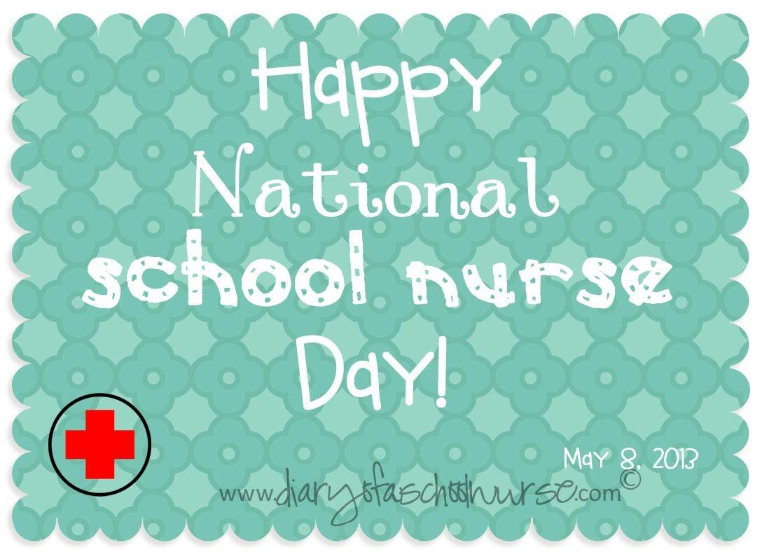 Diary Of A School Nurse: National School Nurse Day- Free Printable - Nurses Day Cards Free Printable