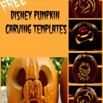 Disney Pumpkin Carving Patterns   Frugal Fanatic   Free Printable Pumpkin Carving Stencils For Kids