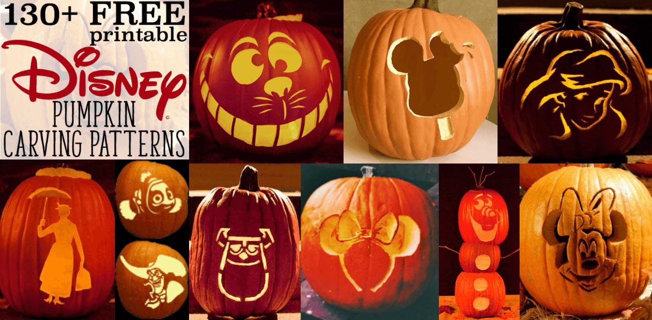 Disney Pumpkin Stencils: Over 130 Printable Pumpkin Patterns - Free Printable Pumpkin Carving Stencils
