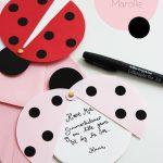 Diy: Ladybug Party Invitations (Free Printable Template) | Father En   Free Printable Ladybug Invitations