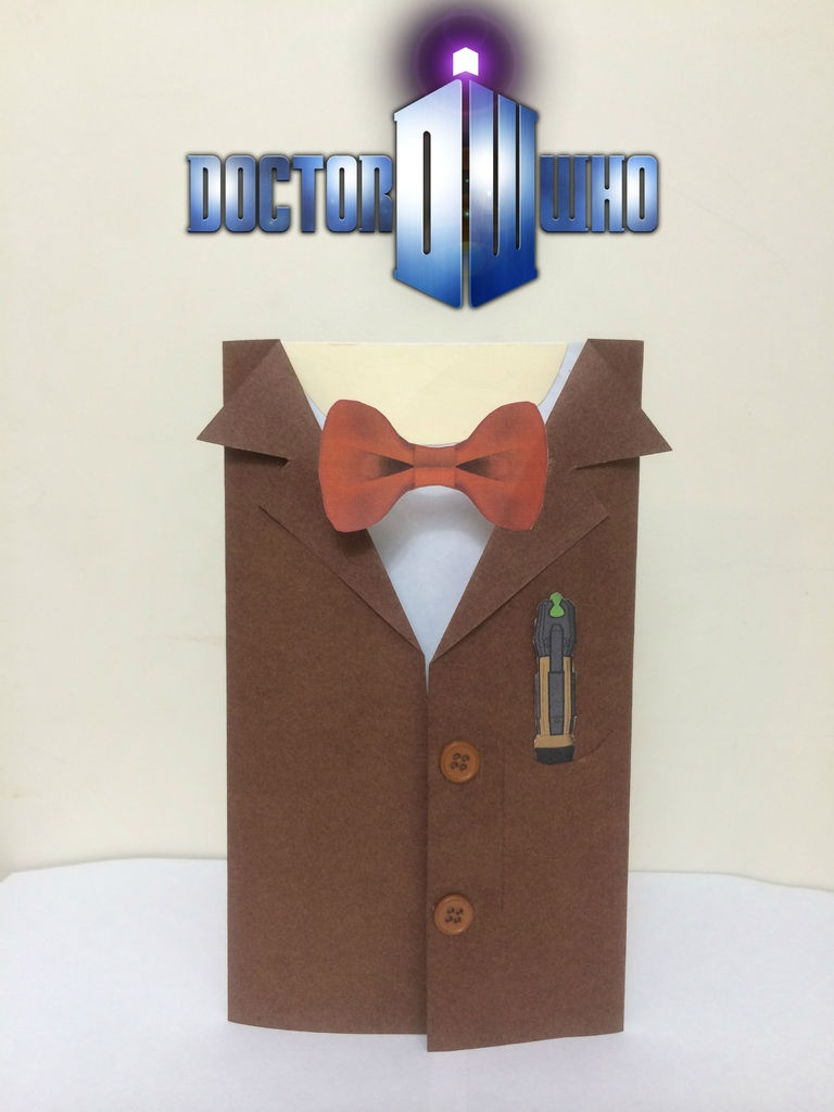 Doctor Who Birthday Card: 5 Steps (With Pictures) - Free Printable Dr Who Birthday Card