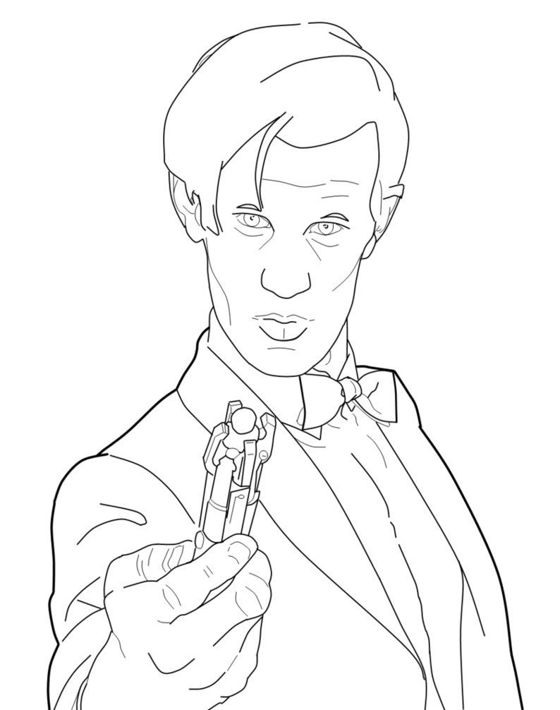 Doctor Who Coloring Pages | Fun Crafts | Coloring Pages, Doctor Who - Doctor Coloring Pages Free Printable