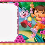 Dora The Explorer: Free Printable Invitations And Party Printables   Dora Birthday Cards Free Printable