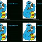 Download Cookie Monster Birthday Invitations Main Image   Blank   Free Printable Cookie Monster Birthday Invitations