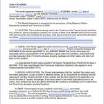 Download Free Alabama Month To Month Rental Agreement   Printable   Free Printable Lease Agreement