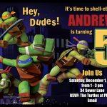 Download Free Template Teenage Mutant Ninja Turtle Birthday Party   Free Printable Tmnt Birthday Party Invitations