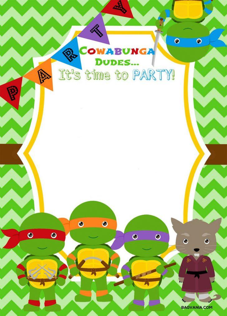 Free Printable Ninja Turtle Birthday Banner