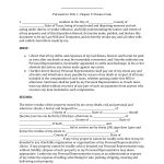 Download Texas Last Will And Testament Form | Pdf | Rtf | Word – Free Printable Last Will And Testament Blank Forms