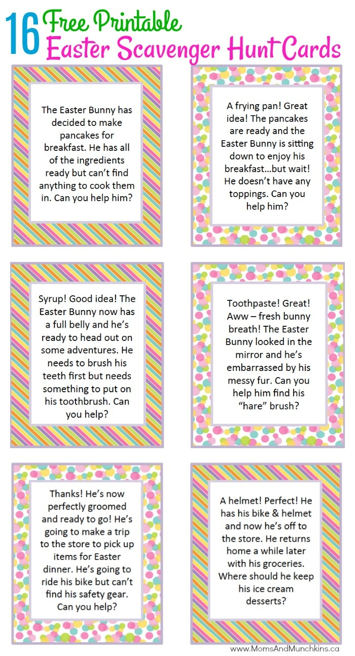 Easter Activities, Free Printables, Party Ideas, Recipes And More - Easter Games For Adults Printable Free