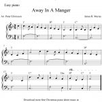 Easy Piano Arrangementpeter Edvinsson Of The Christmas Carol - Free Printable Christmas Music Sheets Piano