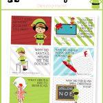 Elf On The Shelf Printables, Ideas And Activities | Eighteen25   Elf On The Shelf Free Printable Ideas