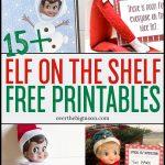 Elf On The Shelf Printables & Ideas | Over The Big Moon   Elf On The Shelf Free Printable Ideas